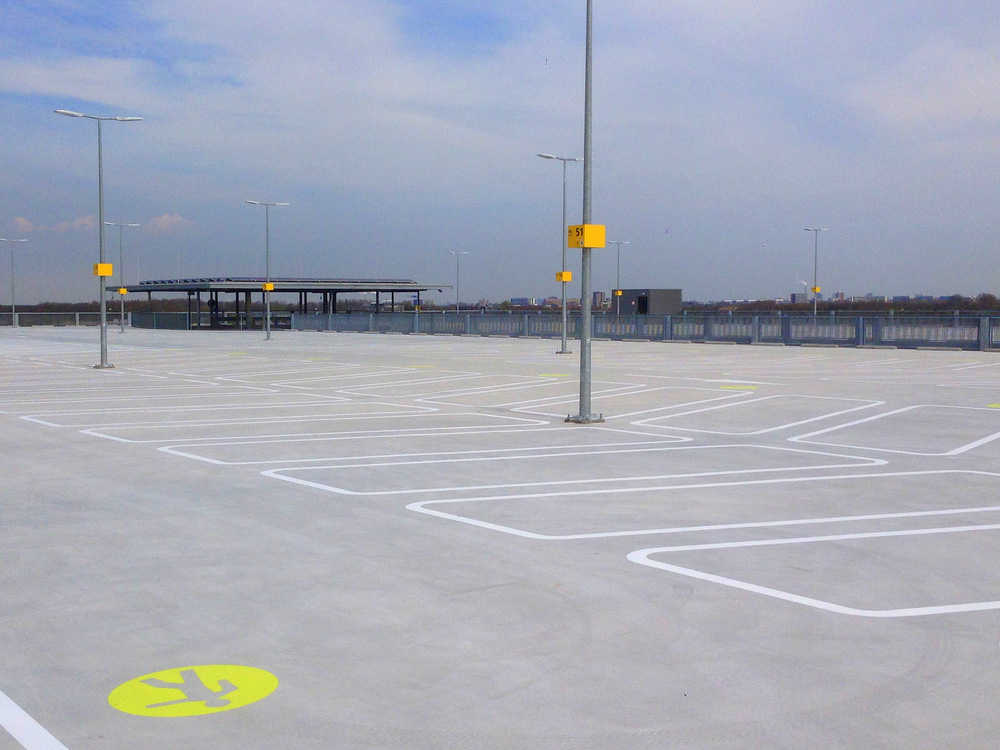 Parking garage P3 - Kampstaal